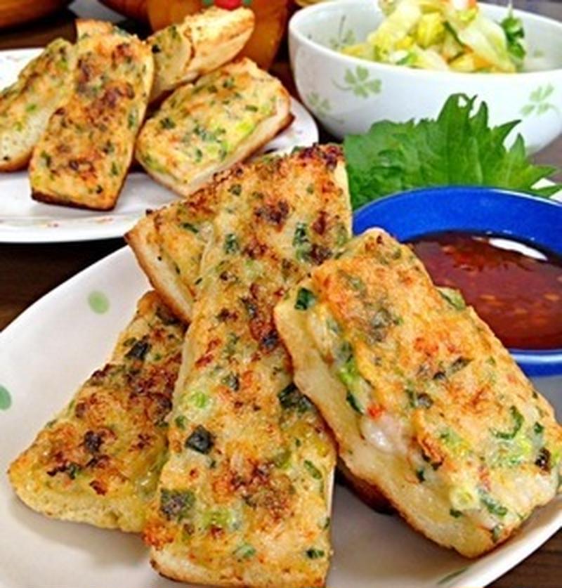 おつまみにも、前菜にも!ついつい食べちゃう「海老パン」レシピ