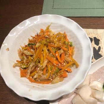 簡単びっくり常備菜