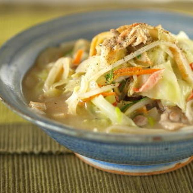 うどん麺のチャンポン
