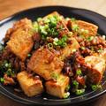炒どうふの汁なし麻婆豆腐 、 男前豆腐レシピ by 筋肉料理人さん