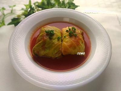 鶏ひき肉でヘルシー♪レンジで簡単!鶏ひき肉とトマトジュースでロールキャベツ  と  お知らせ