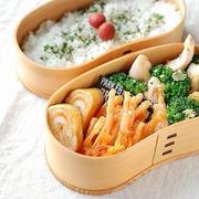 ◆ささみとブロッコリーの粉チーズ炒め弁当