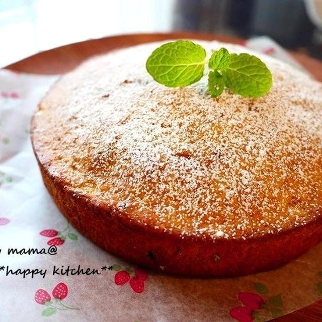 ほんのり甘いキャロットケーキ♪8歳児が作りました