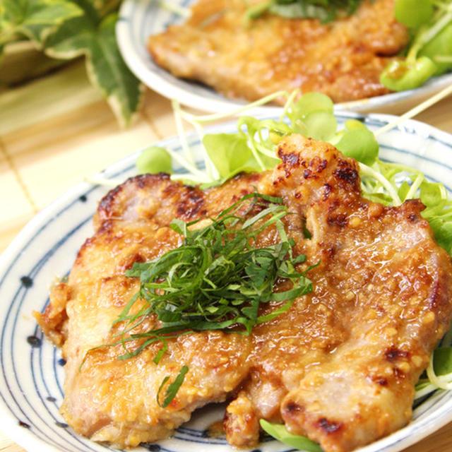 豚肉で味噌漬けの生姜焼き(簡単うまっ!なごはんが進む系オカズ