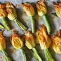【オーブンで作る】花ズッキーニとお米のリピエノ
