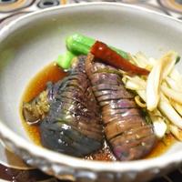 【ヤマキだし部】レンジでなすとねぎのピリ辛煮。火を使いたくない暑い日に。