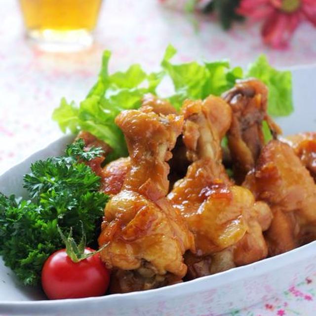 鶏手羽のマーマレード煮込み、とスパイスブログ掲載のお知らせ