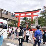 京都で結婚式♪運動会疲れ⁈