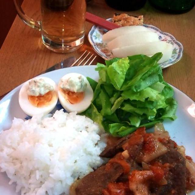 牛肉とオニオンのビール煮 ~ お肉がやわらか~い♪