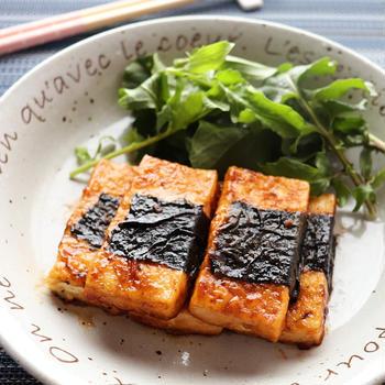 ふわふわ♪豆腐の生姜焼き☆