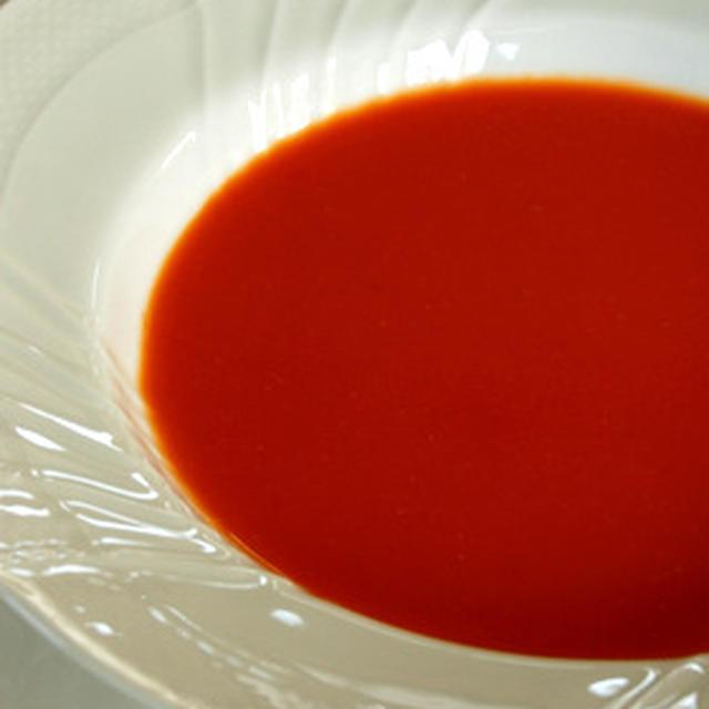 懐かしの味 トマトのスープ