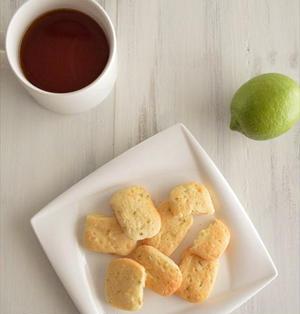 水切りヨーグルトで♪爽やかレモンのソフトクッキー