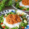 【レシピ・主菜】おうちで簡単タコライス風♡ライスサラダ