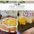 冷凍パイ生地でレモン・オ・シトロン・タルトパイ~旬のフルーツでフルフルゼリー