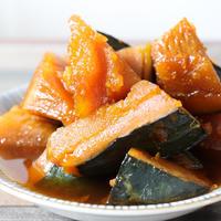 【簡単!おススメ!】一番簡単!材料3つで砂糖不使用!かぼちゃの田舎煮