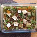 焼き豆腐と野菜の惣菜ジュレ