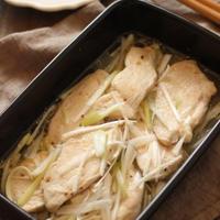 【レシピ】しっとり美味しい鶏むね肉のねぎマリネ/#作りおき