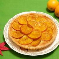 さっくりで凄〜く美味しい♪♪『フルブラオレンジタルト』フルブラと、漬け込んだレーズンも入れて♪♪