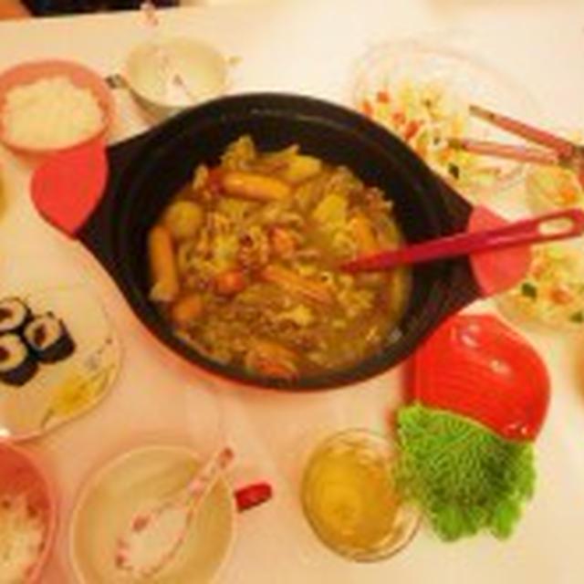 ☆CoCo壱番屋チーズカレー鍋&かんぴょう巻き(笑)☆