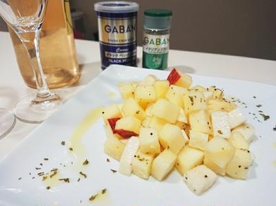 【スパイス大使】イタリアンパセリ~長芋とりんごのマリネ