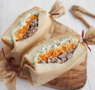 【つくりおきアレンジ】ツナとブロッコリーチーズの満足サンド