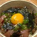 韓国風マグロユッケ丼