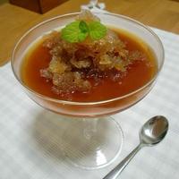 【美味安心】第7弾【アイスティー】で♪ ☆夏の冷え冷え!丸ごと紅茶ゼリー☆
