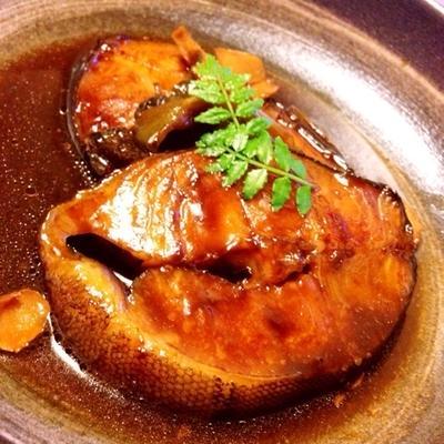 銀鱈の煮付け〜(≧∇≦)