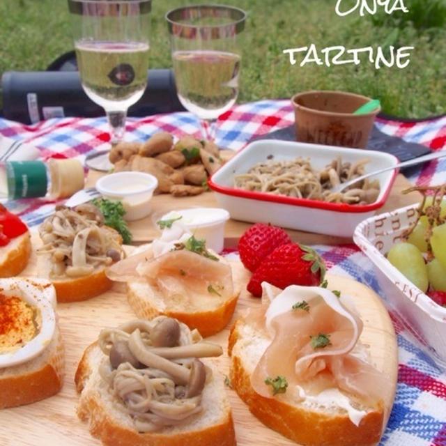 【タルティーヌ4種でピクニック♡またピクニックに行きましたー!】