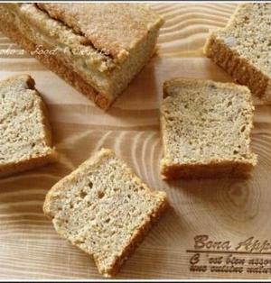 糖質オフ♪おからとバナナの米粉ケーキ
