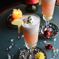 飲み残し白ワインで簡単ひんやり大人おやつ 桃サングリアとカルピスりんご 二層のフローズンカクテル #Cocktail
