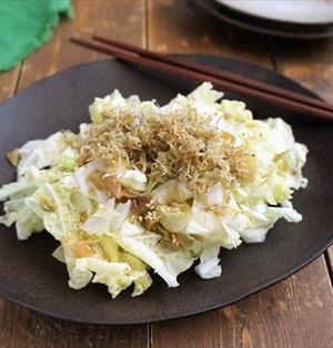 白菜とザーサイのカリカリじゃこサラダ@Aeon The Table⑮