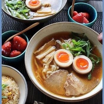 休日のラー活☆彡喜多方醤油、長崎ちゃんぽん、札幌味噌♪の3日分