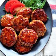 ♡簡単・時短・節約♡たっぷり生姜豚つくね♡【#ひき肉#レシピ#作り置き】