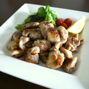 【簡単レシピ】鶏肉のソテー♪レモン風味♪
