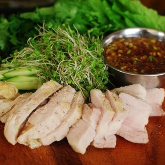 ヘルシー韓国料理!ポッサム