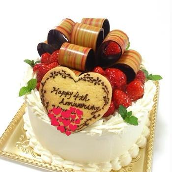 (717)*オーダーケーキ~いちごのショートケーキ~*
