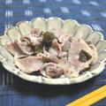 タジンで☆豚のウーロン茶葉蒸し