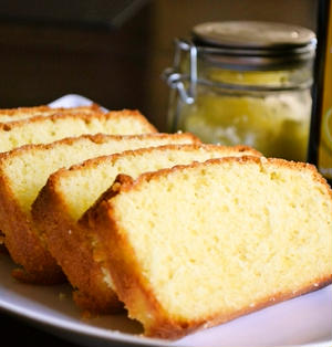 【レモンオリーブオイルと塩レモンで作る レモンケーキ】(印刷用)