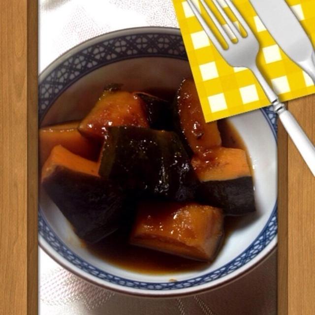 かぼちゃの蜜煮