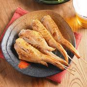 手羽先の旨塩焼鳥 、 オーブントースターでおうち焼鳥