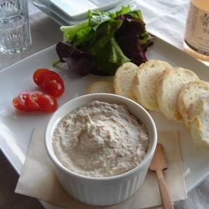 ツナとクリームチーズのパテ