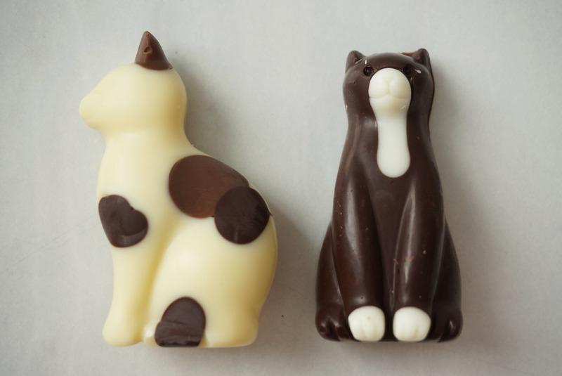 「猫チョコレート」200円(税抜)<br>2月の中旬に発売されたばかりの新作は、みんな大好きなチョコ...