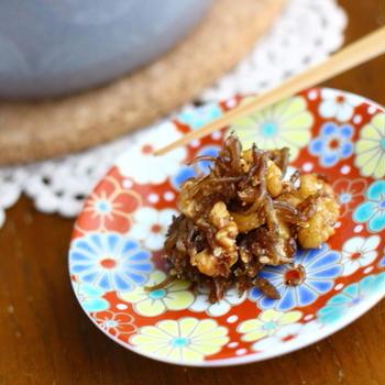 10分で簡単な手作り佃煮|【胡桃じゃこ佃煮】レシピと詳しい作り方
