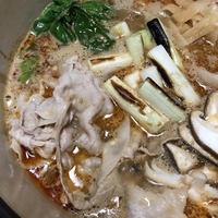 おだしがベース!ごまたっぷりちょい辛が美味しい「たんたん鍋」。