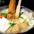キムチ入り鶏だんご鍋 by こっぷんかぁちゃんさん