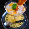 ◆フルブラで軽い前菜 【柿ブラの実がアクセント!人参ムース】