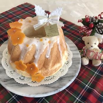 オレンジ香る♡クリスマスクグロフ