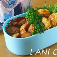 筍と鯖の煮物弁当