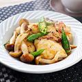 鶏胸肉とオクラの梅照り焼き|レシピ・作り方